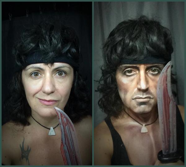 Lucía Pitallis como Rambo