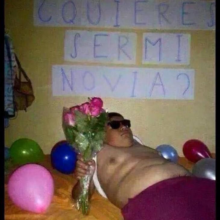 ¿Quieres ser mi novia?