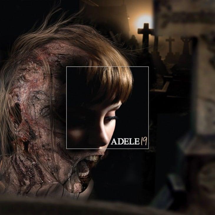 "Portada extendida del disco de Adele ""19"""