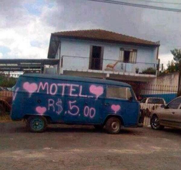 Motel camioneta