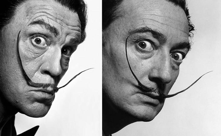 John Malkovich y Salvador Dalí