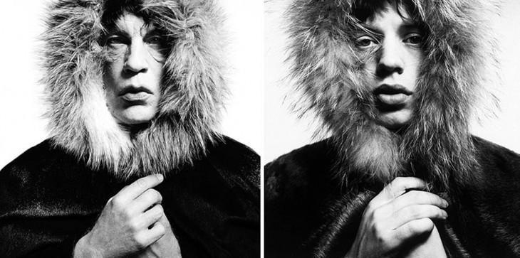 John Malkovich y Mick Jagger
