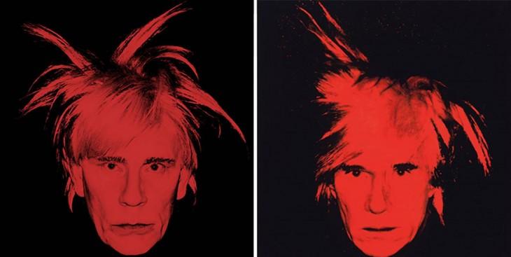 John Malkovich y Andy Warhol