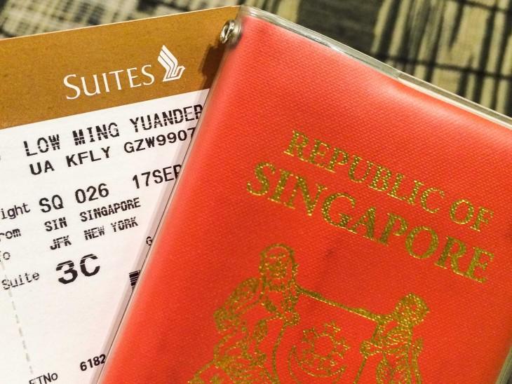 pasaporte de singapour