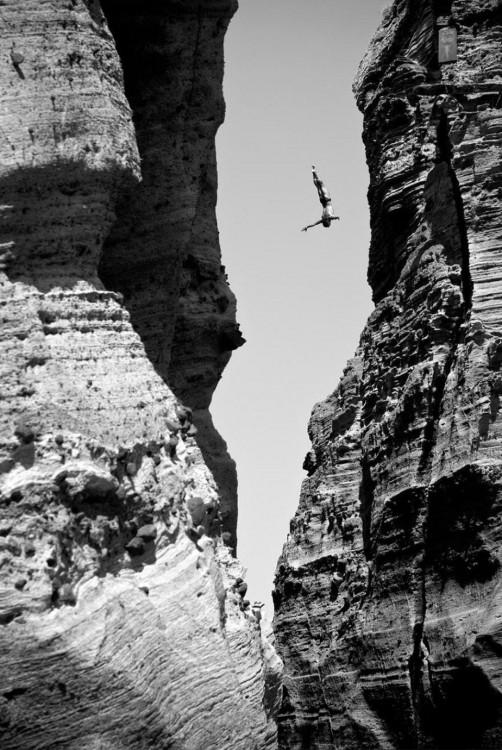 cuerda floja en las alturas
