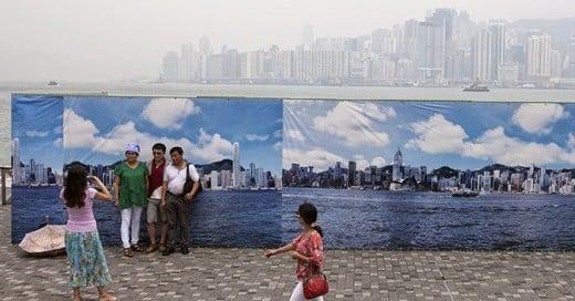 a donde a llegado la contaminación en China