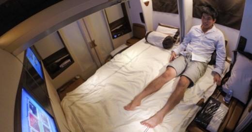volar suite primera clase de singapore airlines