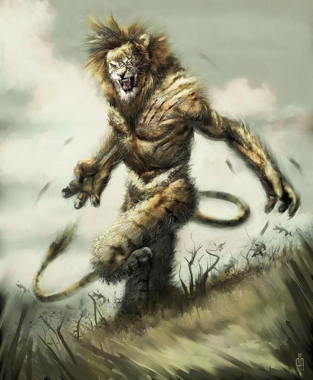 monstruo zodiaco Leo