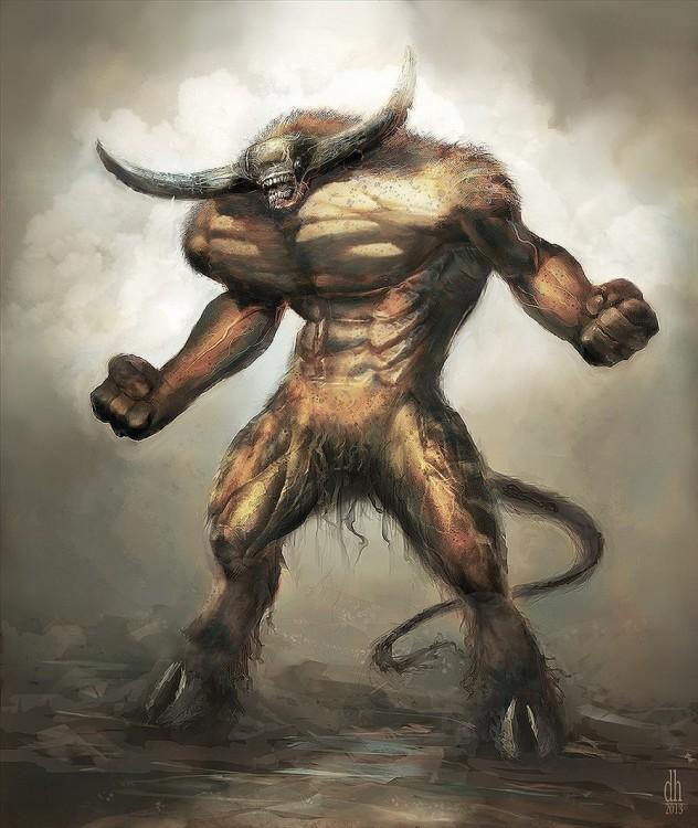 monstruo zodiaco tauro
