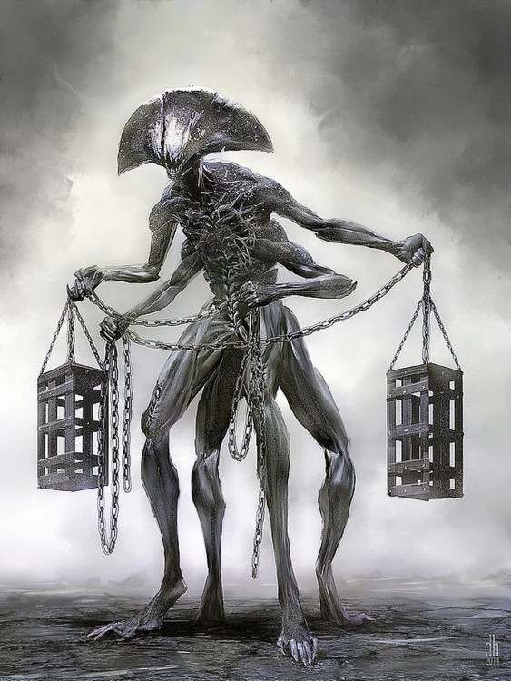 monstruo zodiaco libra