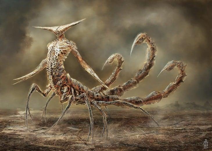 monstruo zodiaco escorpio
