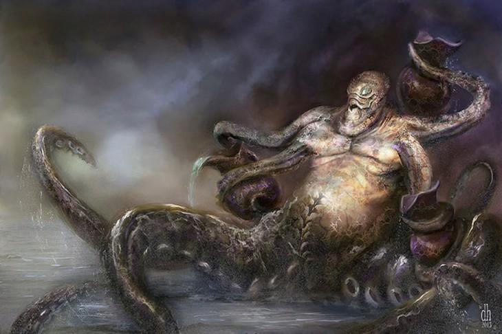monstruo zodiaco acuario