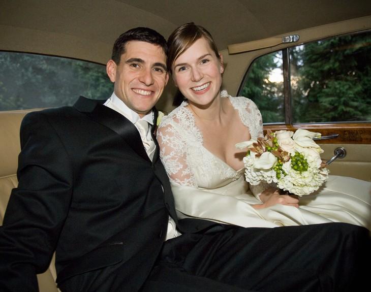 pareja de recien casados