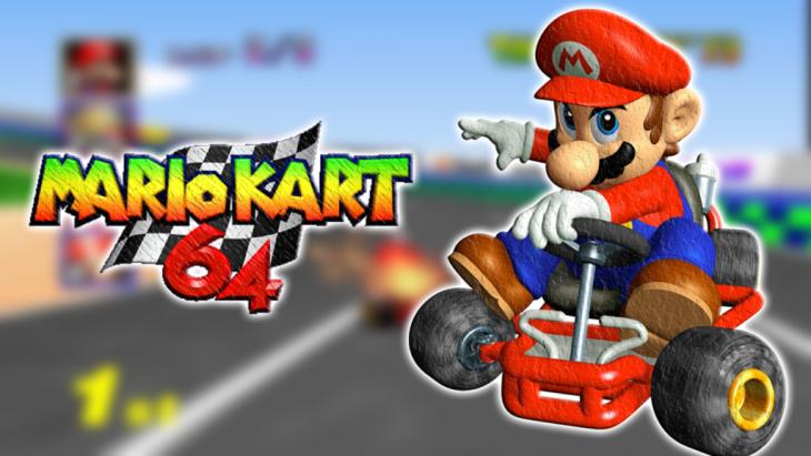 Juego de Mario Kart para nintendo 64