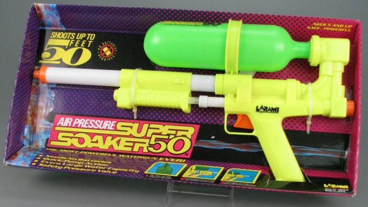 Pistola de agua Super Soaker