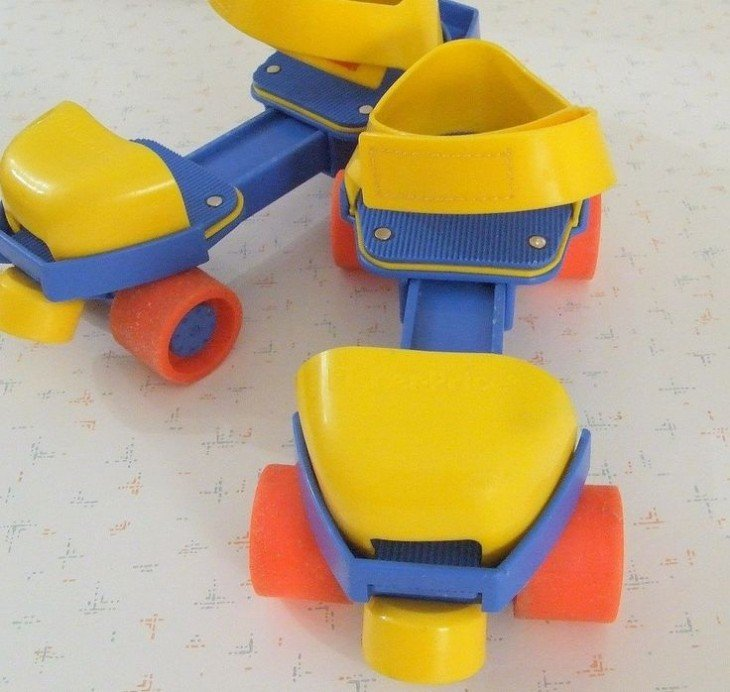 Los primeros patines de Fisher Price