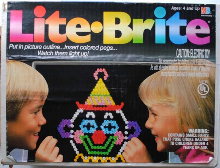 Juego de mesa Lite Brite