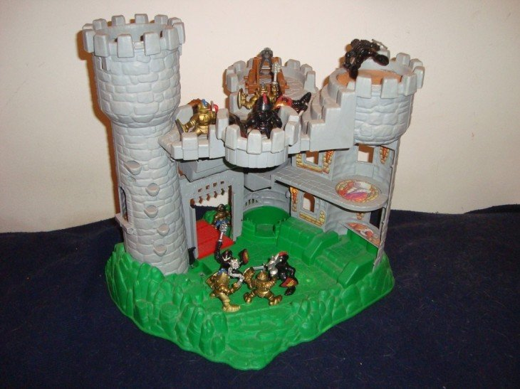 el castillo Fisher Price