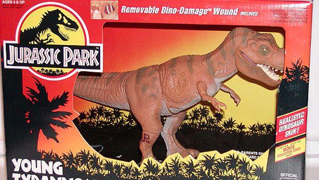 Dinosaurio de la película Jurassic Park