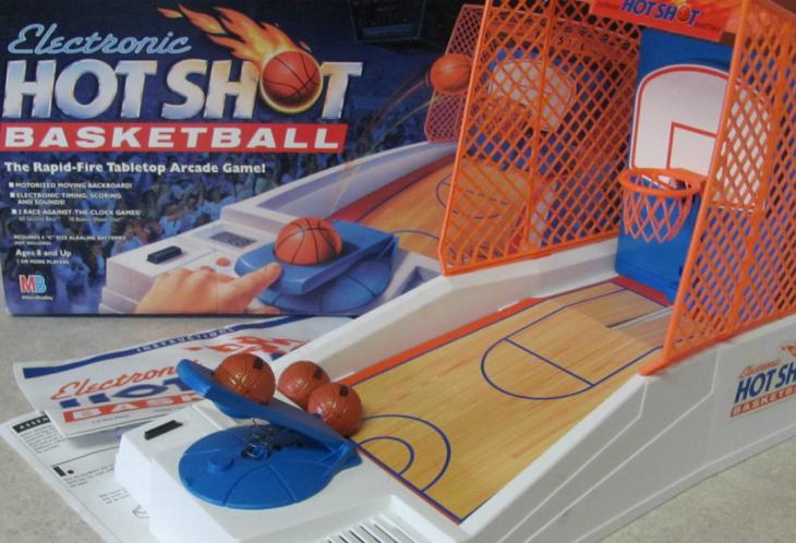 Juego de mesa Hot Shot de Basketball