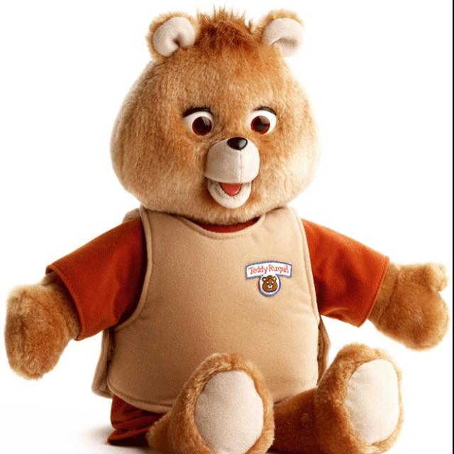 oso de peluche Teddy Ruxpin