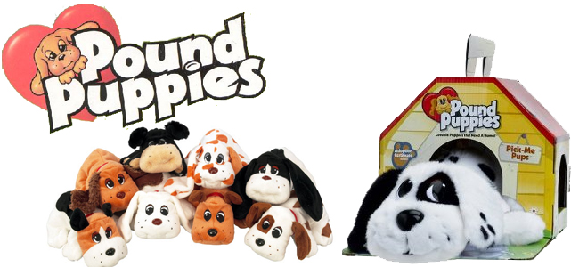 Muñecos de peluche Pound puppies