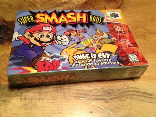 Juego de Super Smash Bros para Nintendo 64