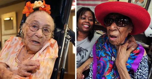 las mujeres mas viejas del mundo