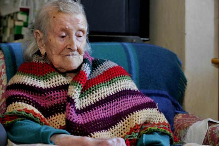 Emma Morano la mujer más longeva de Italia