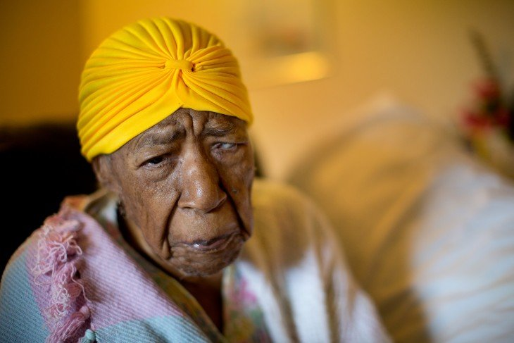 anciana Sussnah Mushatt Jones de 115 años