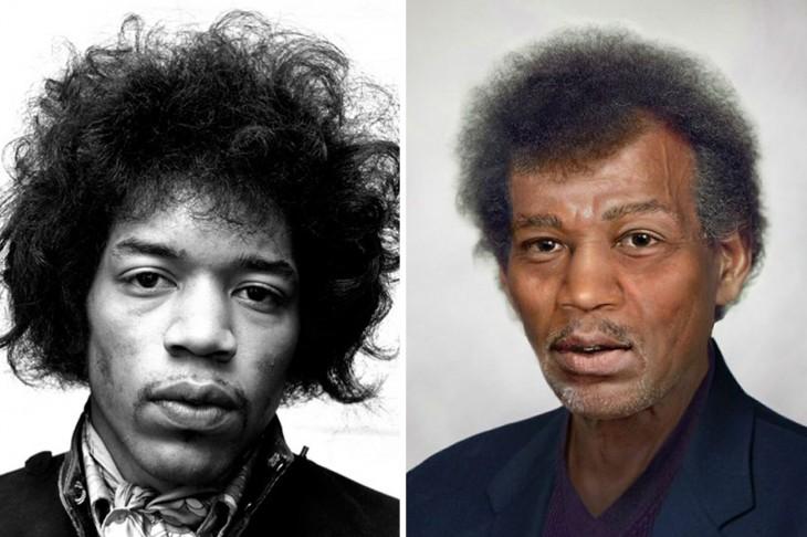 Así luciría Jimi Hendrix si estuviera con vida