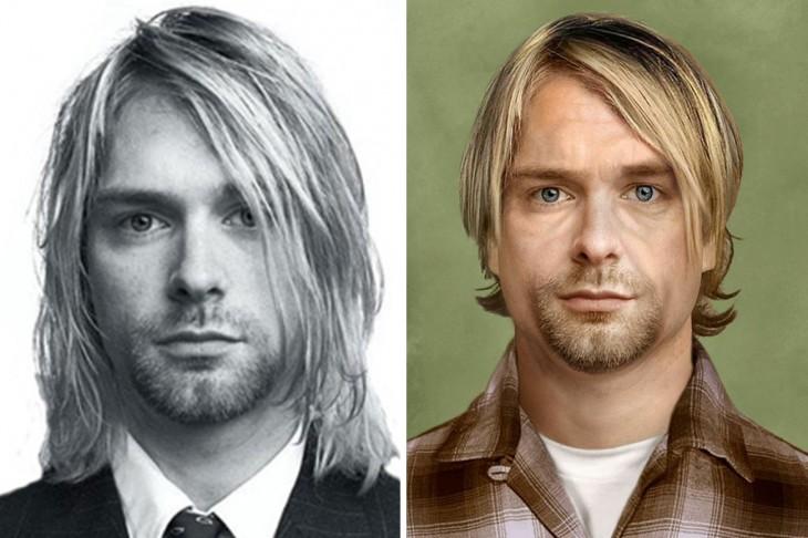 Como se vería Kurt Cobain si siguiera vivo