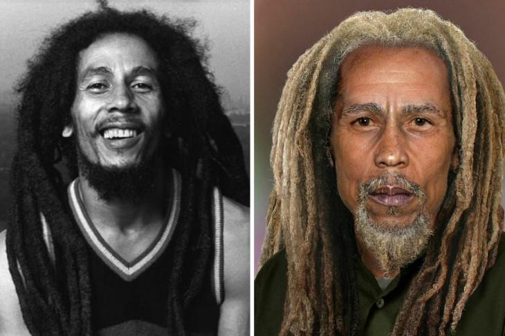 Bob Marley se vería así si aún estuviera vivo