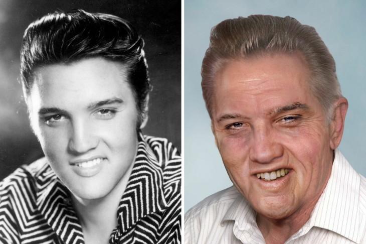 Como se vería ahora Elvis Presley