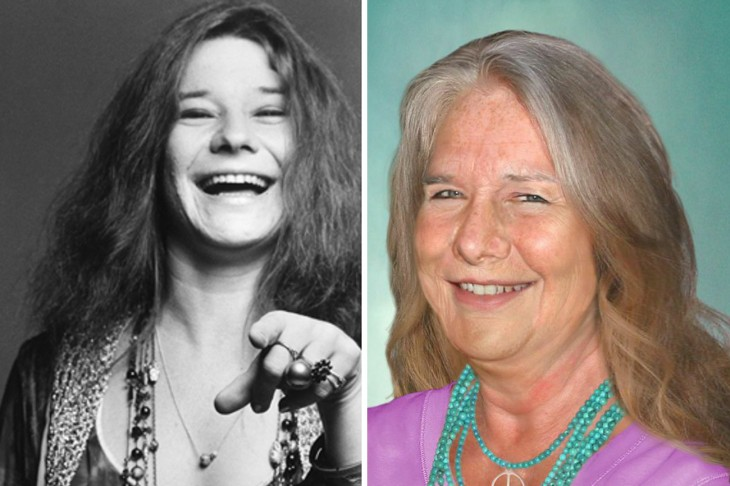 Así se vería Janis Joplin si aún estuviera viva