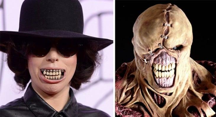 Lady Gaga parecida a Nemesis
