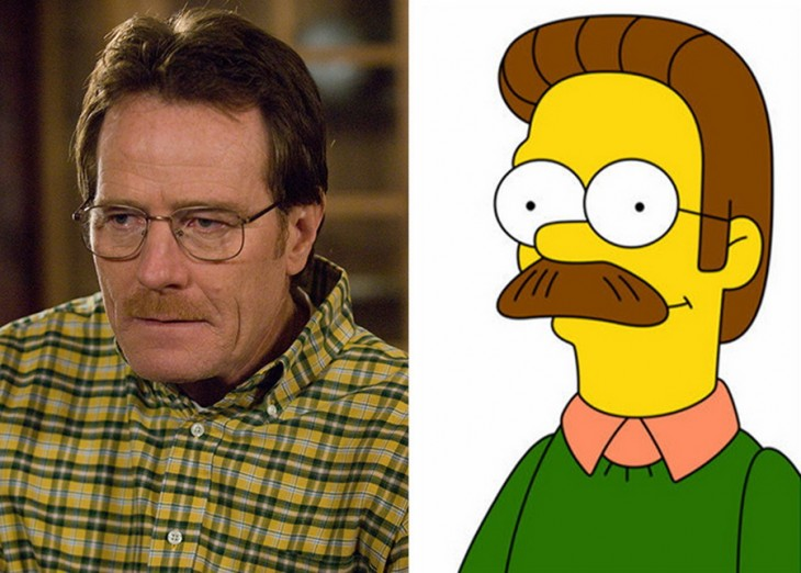 Walther White parecido a NEd Flanders