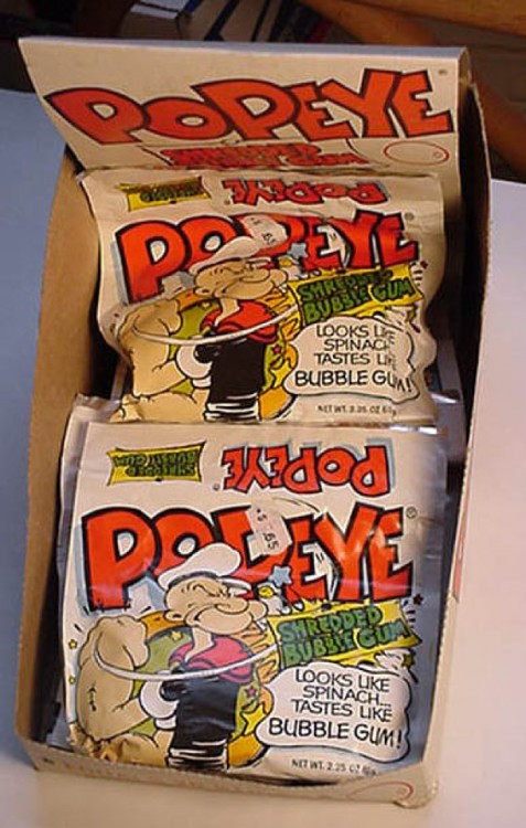 Chicles popeye