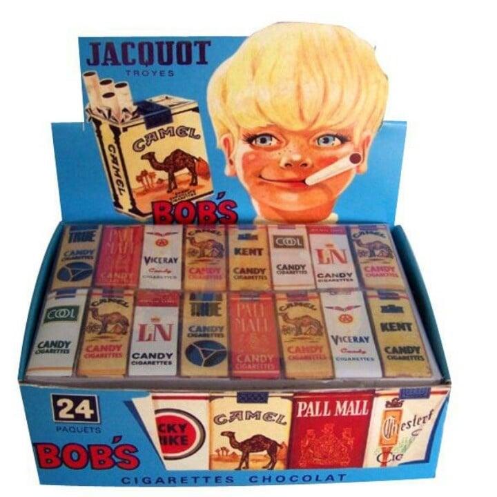 Cigarros de dulce