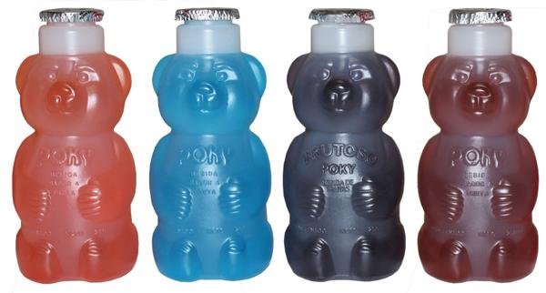 jugos poky de diferentes sabores