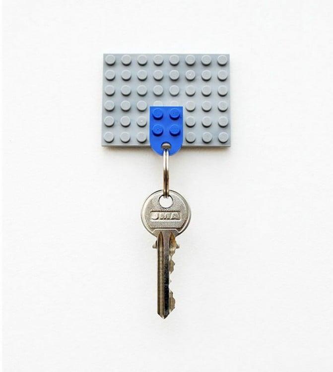 Porta llaves de lego