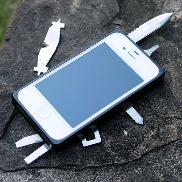 Funda para Iphone multi herramientas