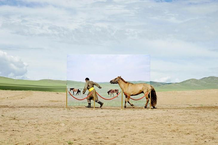 Foto de los problemas que sufre mongolia