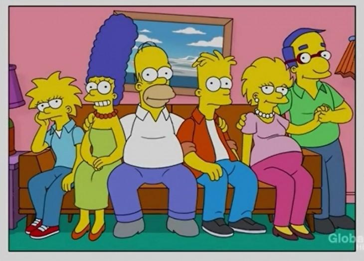 Los simpson Lisa embarazada