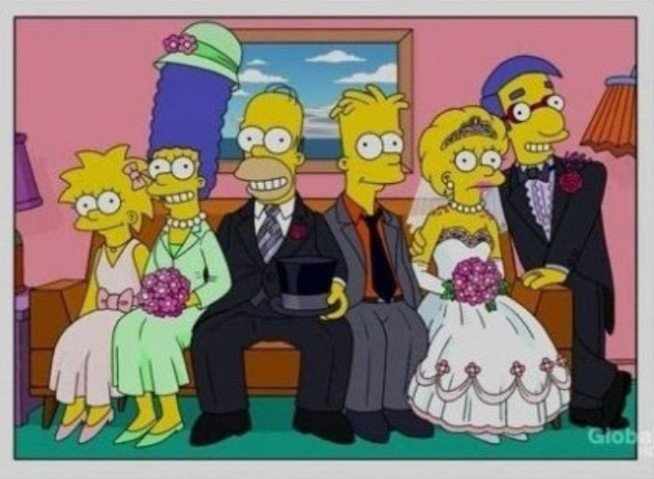 Los simpson  El casamiento de Lisa con Milhouse