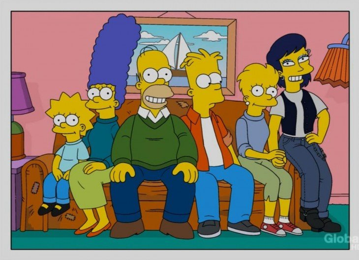 Los simpson La primera pareja de Lisa