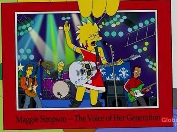 """Maggie Simpson,"""" La voz de su generación"""""""