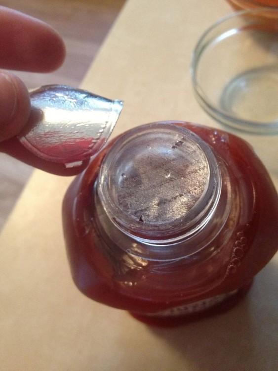 Abrir mal una botella de catsup
