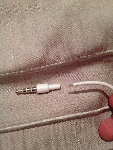 Un cable que se parte a la mitad