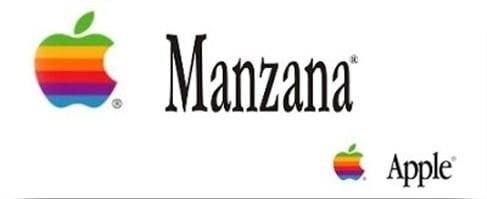 Logotipo de Apple en español